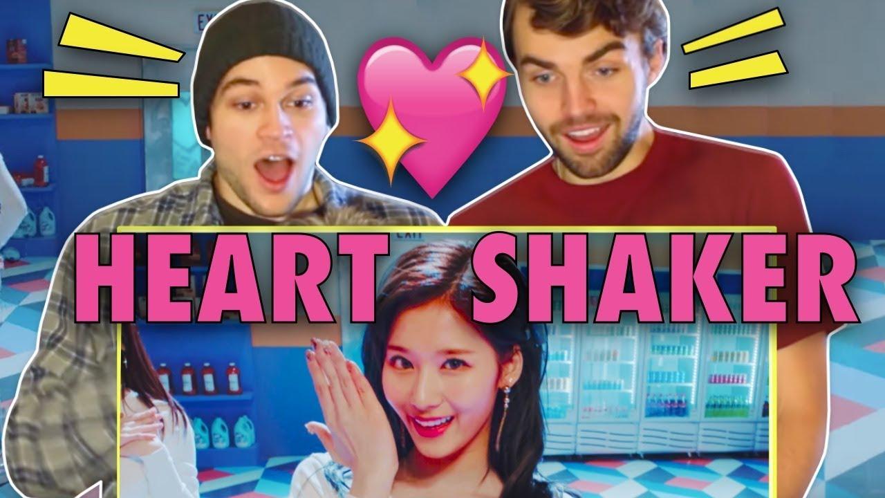 TWICE 'Heart Shaker' M/V Teaser Reaction! [한글자막] - YouTube