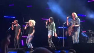 "Little Big Town sings new song ""Miracle"" at CMA Fest 2016"