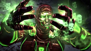 Mortal Kombat X PC Mod - Cyber Ermac 2.0 WIP Gameplay, Intro, Victory, Fatality (1080p 60 FPS)