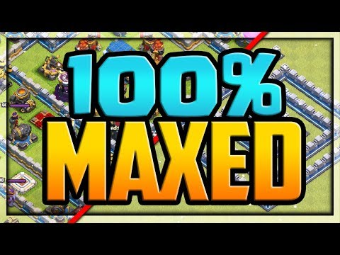 FULLY MAXED Town Hall 12 W/the BEST ARMY EVER In Clash Of Clans! TOO Strong?