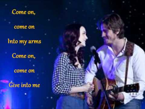 Give in to Me-Leighton Meester and Garrett Hedlund(with LYRICS)