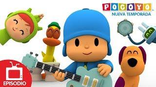 🎸 POCOYÓ en ESPAÑOL - La banda de rock [ 4x20 ] | CARICATURAS y DIBUJOS ANIMADOS para niños