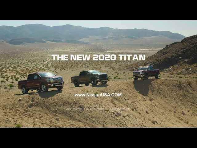 2020 Nissan TITAN Reveal & Overview