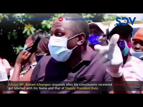 Kimani Ichungwa warns culprits distributing poisoned food in Kikuyu