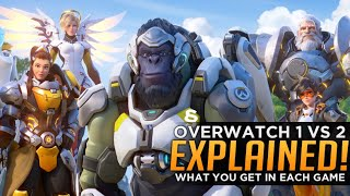 WTF is Overwatch 2? - What You Get in Each Game