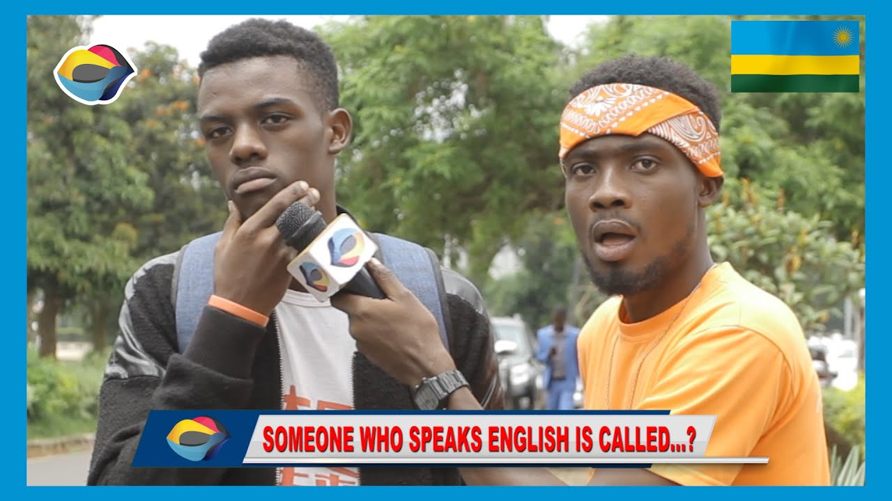 Someone who speaks ENGLISH is called...?   Street Quiz ??   Funny African Videos   African Comedy  