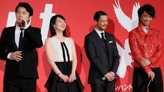 映画『マンハント』のジャパンプレミアが1月30日にTOHOシネマズ 六本木...