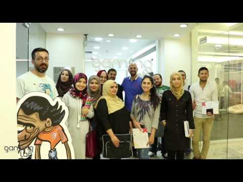 دورات برمجة للأطفال ودورات الرسم مع عمر العبداللات في مختبر الألعاب الأردني