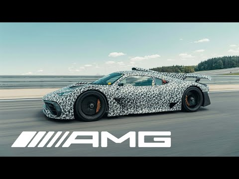 Mercedes-AMG Project ONE – Tests in Immendingen