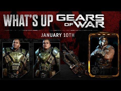 What's Up Gears   Gear Dorado   Eventos   Pack URI   Futuro Del Gears 4