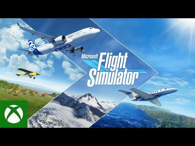 Microsoft Flight Simulator - Pre-Order Launch Trailer - Xbox
