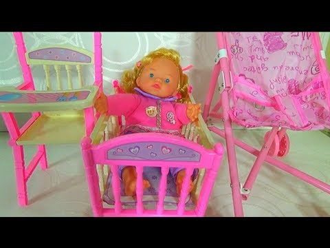 BABY CHAIR, BABY CRIB AND BABY STROLLER  TOYS FOR KIDS