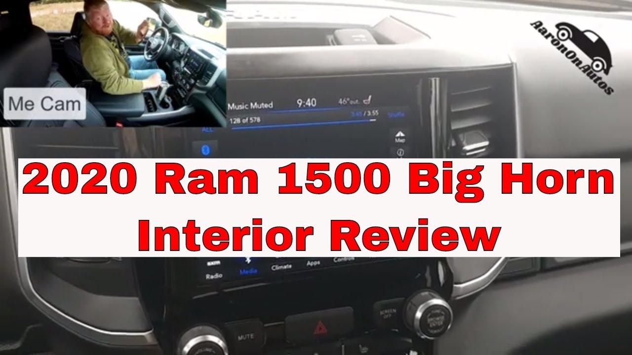 2020 Ram 1500 Big Horn Interior Review Youtube