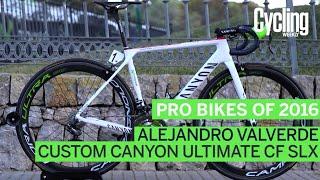 Pro bikes of 2016: Alejandro Valverde's Canyon Ultimate CF SLX
