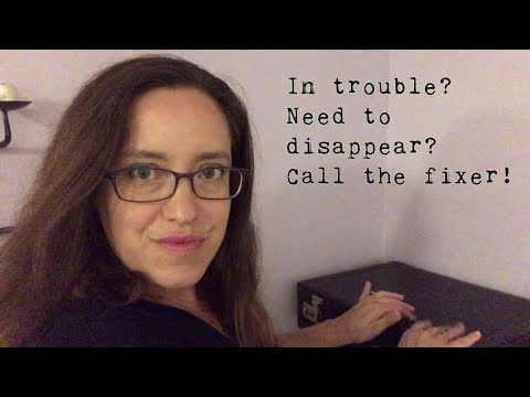 Need a New Identity? Call the Fixer! (ASMR Whisper Roleplay)