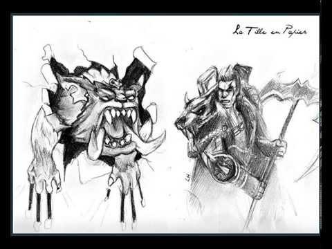 darius league of legend speed drawing youtube