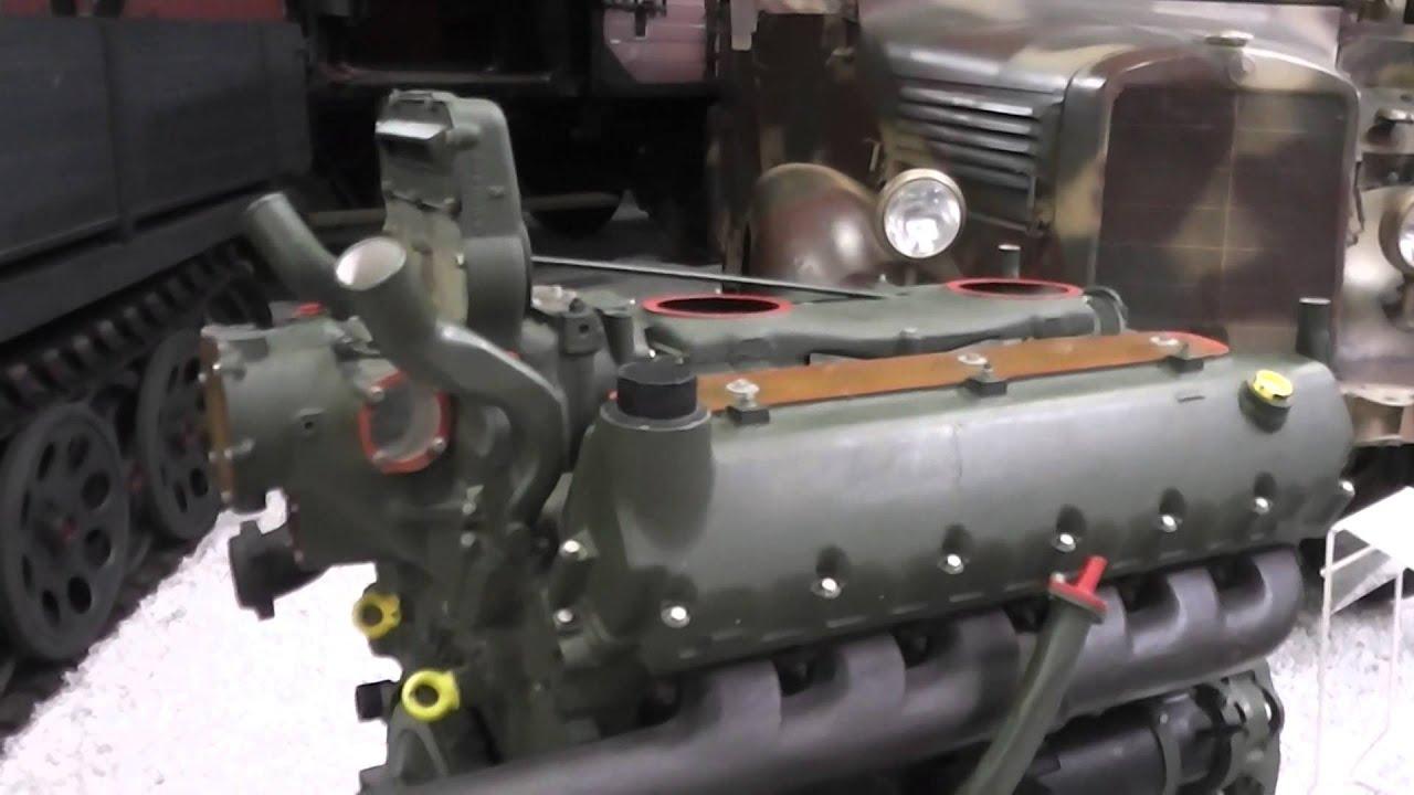 700 ps panzermotor maybach hl 230 - youtube