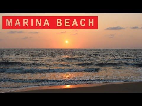 Marina beach Time Lapse | Chennai, India