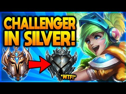 I TOOK MY RIVEN INTO SILVER ELO! CHALLENGER MAIN VS SILVER! - League of Legends