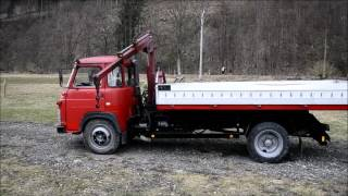 Prodám Avii 31 T kontejner s hydraulickou rukou