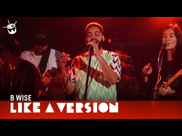 B Wise covers Red Hot Chili Peppers 'Under The Bridge' for Like A Version