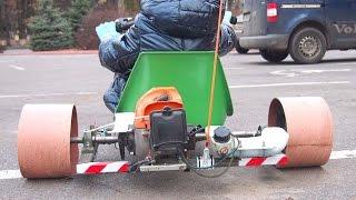Motorized Drift Trike D.I.Y. (Homemade)/ Самодельный дрифт трайк с двигателем