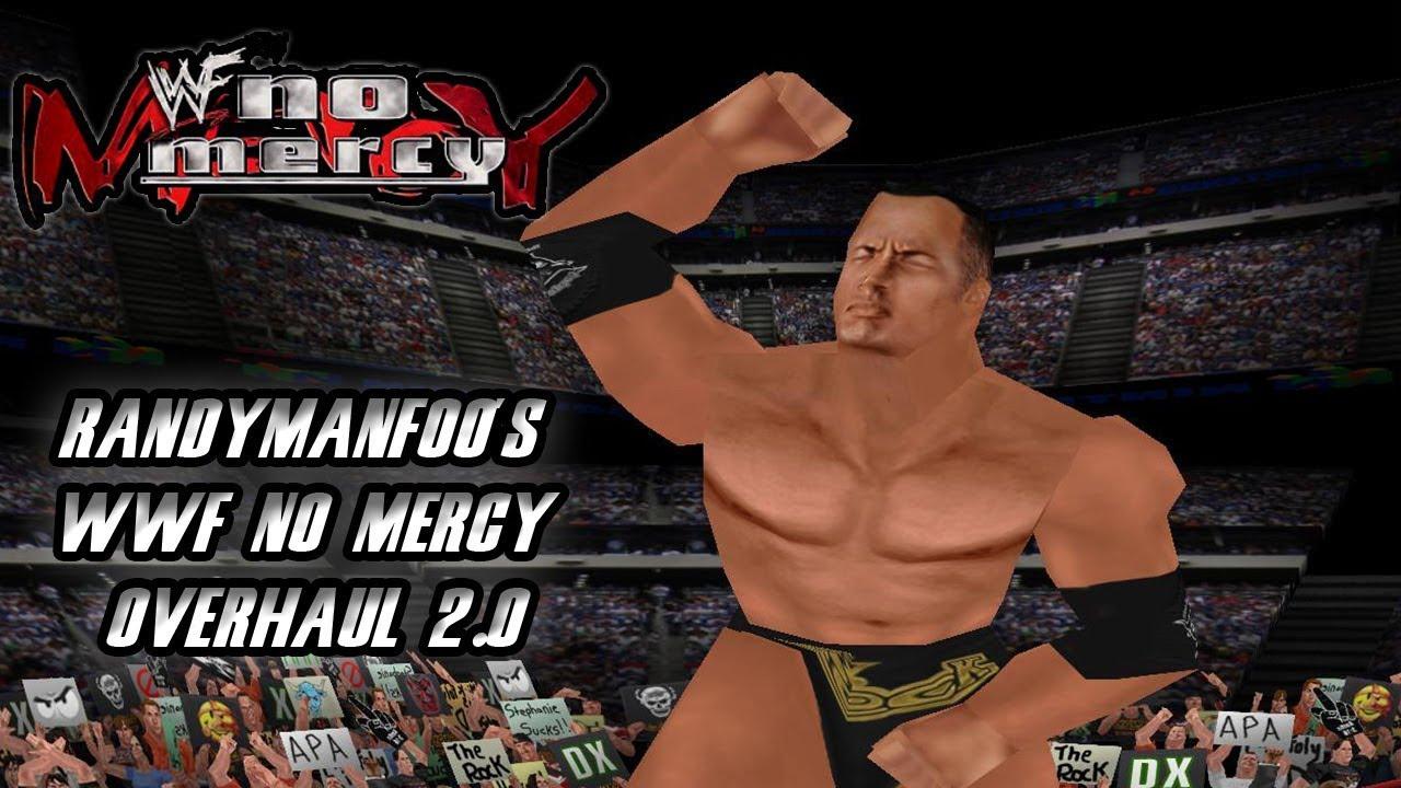 WWF No Mercy HD Textures - RandyManFoo's WWF No Mercy Overhaul 2 0