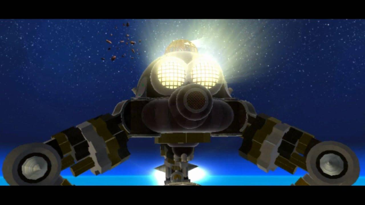 super mario galaxy - boss 4 - megaleg