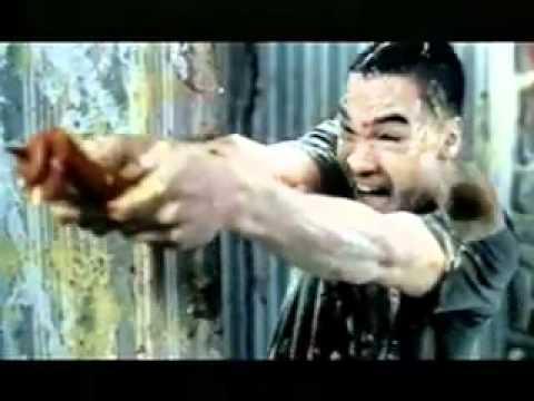 Labatt Blue commercial - FOODFIGHT!!!