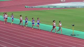 2017年度 近畿陸上選手権 女子1500mタイムレース2組目