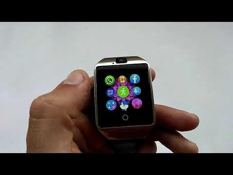 Смарт часы Q18 Smartwatch с SIM, MicroSD, камерой (обзор, настройка, отзывы, инструкция на русском)