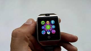 Смарт годинник Q18 Smartwatch з SIM, microSD, камерою (огляд, налаштування, відгуки, інструкція російською)