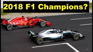 WHO WILL WIN 2018 CHAMPIONSHIP?! Ferrari & Mercedes F1 2018 Mid Season Review PART 5
