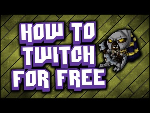 How to stream on twitch tv FOR FREE - For beginners- Everything you need to know