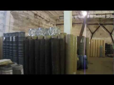 Видео Сетка рабица металлическая ульяновска
