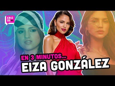 Eiza González y su trayectoria antes y después de las cirugías | En 3 minutos