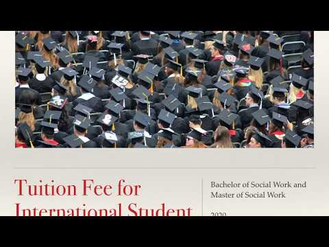 Tuition Fee For International Student In Australia || Bachelor/Master Of Social Work