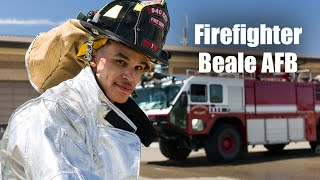 Firefighter: Beale AFB