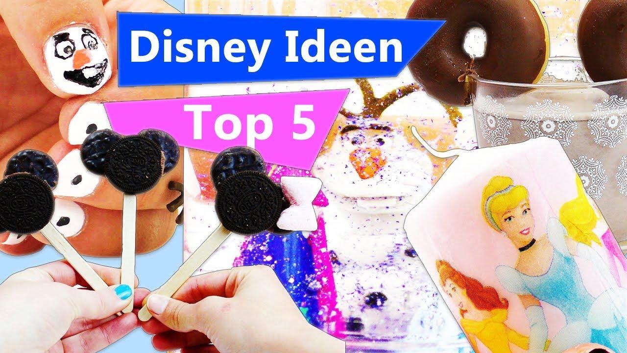 Top 5 Disney Ideen | Frozen Olaf Nageldesign | Micky Maus Cakepops ...