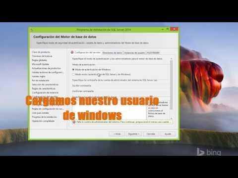 Instalación Sql Server 2014 - Error de Idioma- Error Framework