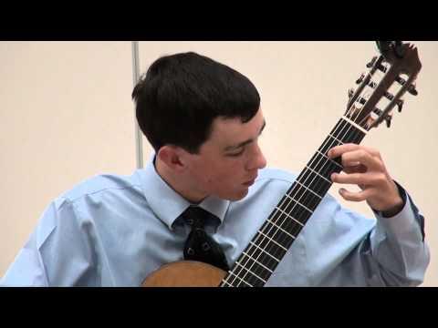 Alexander Stroud at Sacramento Guitar Society - Narvaez - Cancion del Emperador
