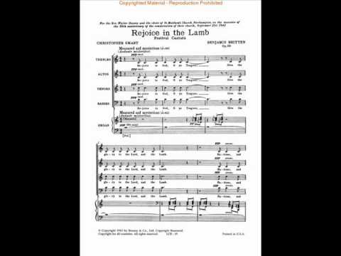 Rejoice in the Lamb - Benjamin Britten - Chinyun Choir 青韵合唱團