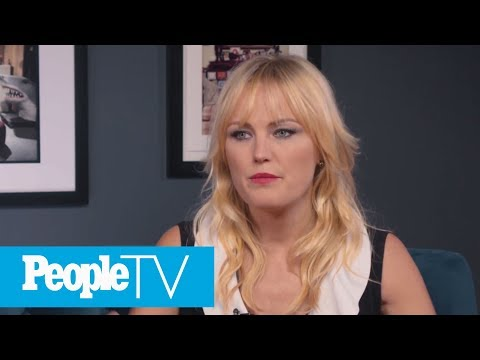 Malin Akerman On Her 'Watchmen' Training: I Couldn't Wipe My Own Butt I Was So Sore!  PeopleTV