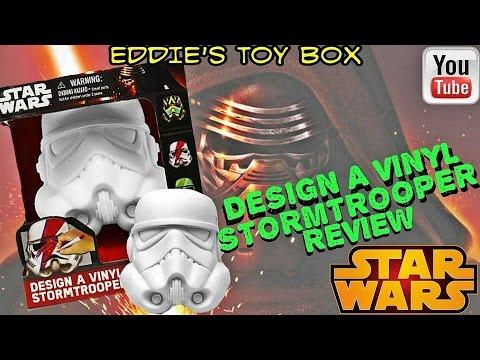 Star Wars The Force Awakens Design A Vinyl Stormtrooper Art Set