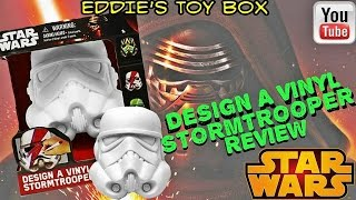 Star Wars The Force Awakens Design A Vinyl Stormtrooper Art Set!