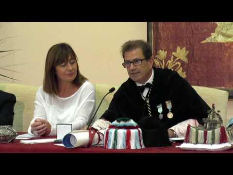 Acte d'investidura del senyor Joan Veny i Clar com a doctor honoris causa de la UIB