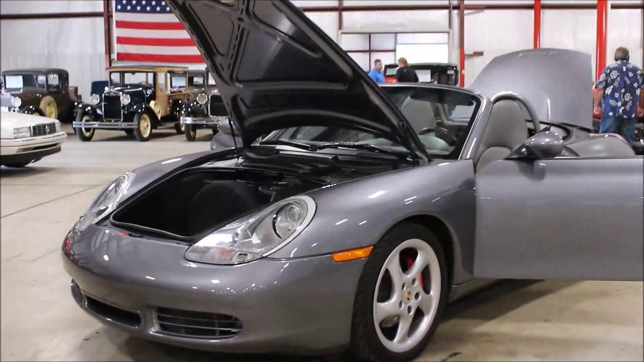 2002 porsche boxster s dk gray youtube. Black Bedroom Furniture Sets. Home Design Ideas