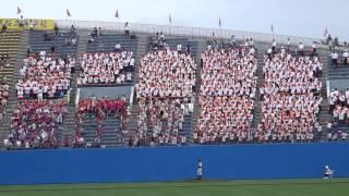 150720 こまちスタジアム 夏の秋田大会 準決勝 秋田工戦.