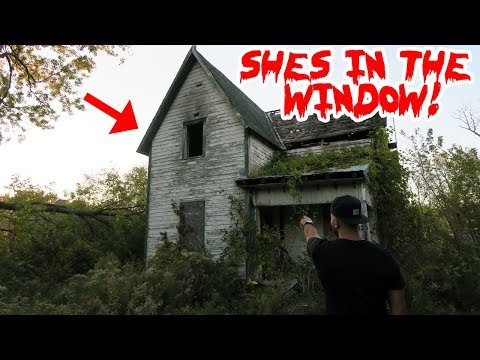 I RETURNED TO TOMS HAUNTED HOUSE AND THIS IS WHAT HAPPENED! ( GIRL IN THE WINDOW) | MOE SARGI