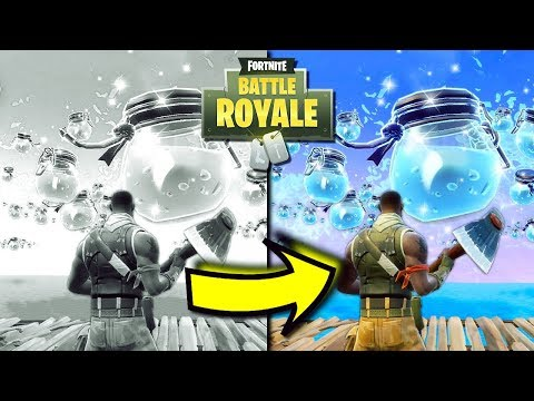 Seeing Fortnite In FULL COLOUR For The First Time... | Fortnite Season 3